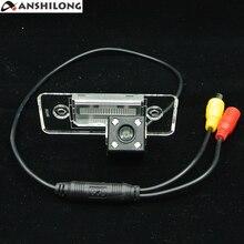 цена на ANSHILONG Car Rear View Reverse Camera with 4pcs LED for 2011 volkswagen polo Sedan