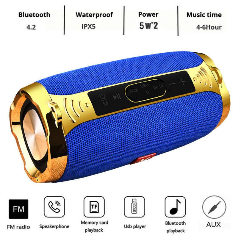 Bluetooth Speaker Kolom Wireless Portable Kotak Suara 10 W Stereo Subwoofer FM Radio BOOMBOX TV TF AUX USB PC Suara bar untuk Xiaomi