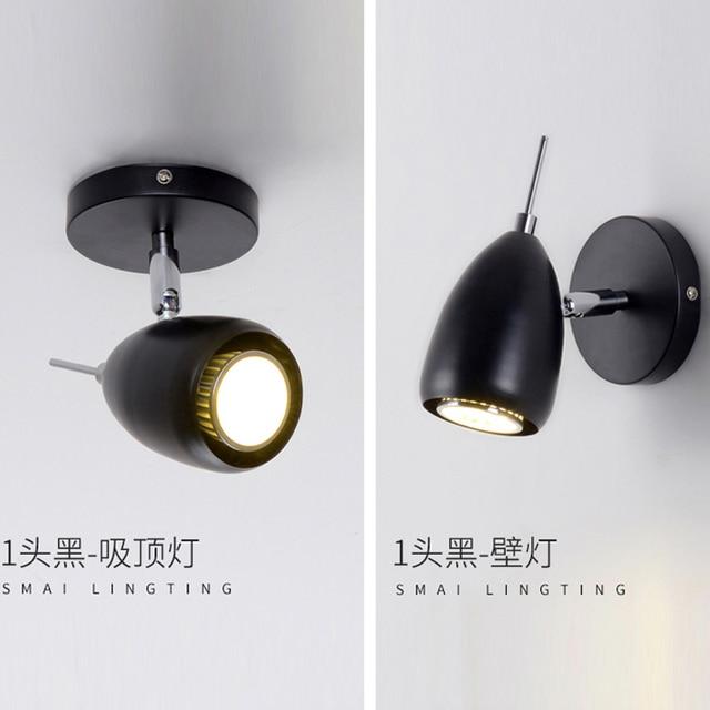 ming genstalleerd achtergrond spots gepersonaliseerde kleding winkels led verlichting track eenvoudige creatieve woonkamer bar led
