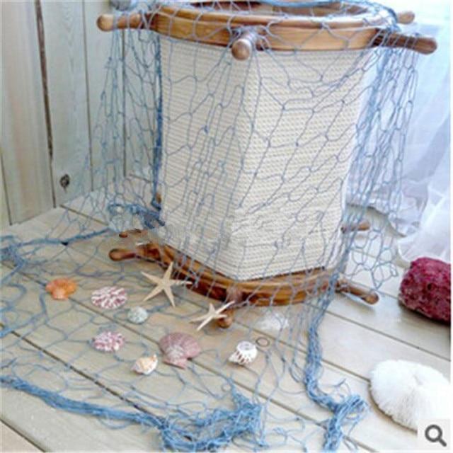 Mediterranean Style Fishing Net Wall Decor 3