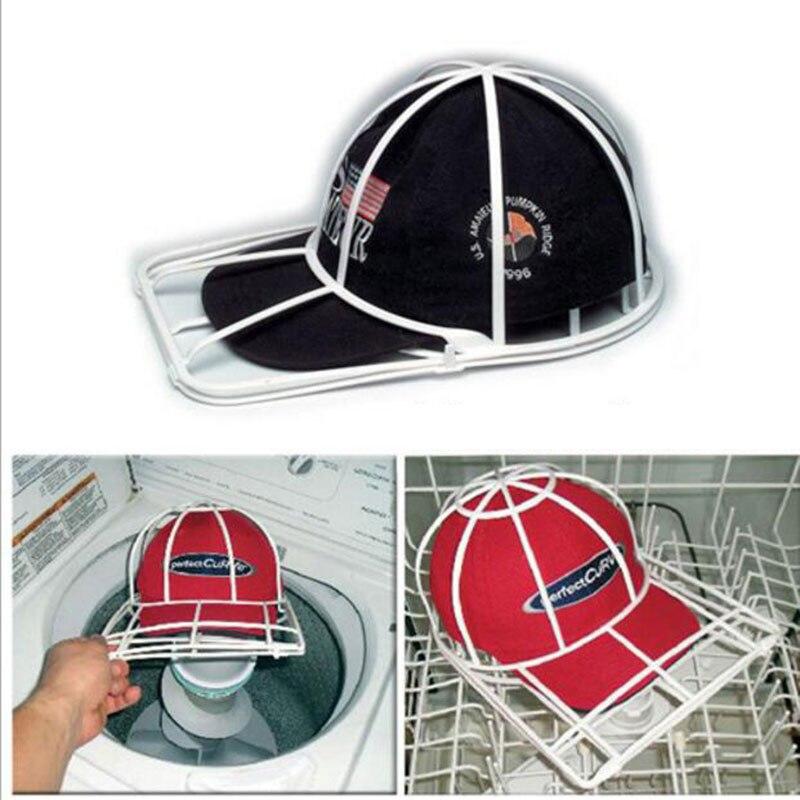 1 Piezas Lavado Sombrero Limpiador Tapa Arandela Para Béisbol Visera Gorra Arandelas De Limpieza De Plástico Anti Deformación De Almacenamiento