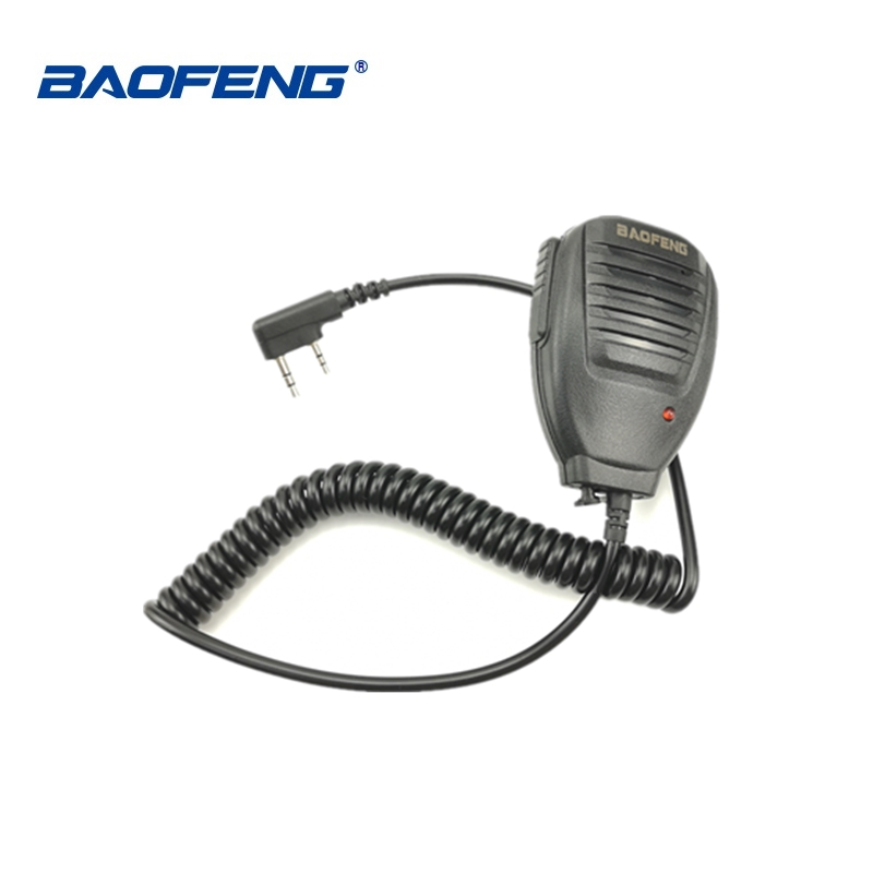 1 2 piece Baofeng BF 888S UV 5R UV 5RC UV 5RE Walkie Talkie Handheld Microphone Speaker Portable Two Way Radio MIC Accessories in Walkie Talkie from Cellphones Telecommunications