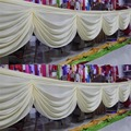 Free shipping cheap price wedding party backdrop decoration curtain swag ladder drops
