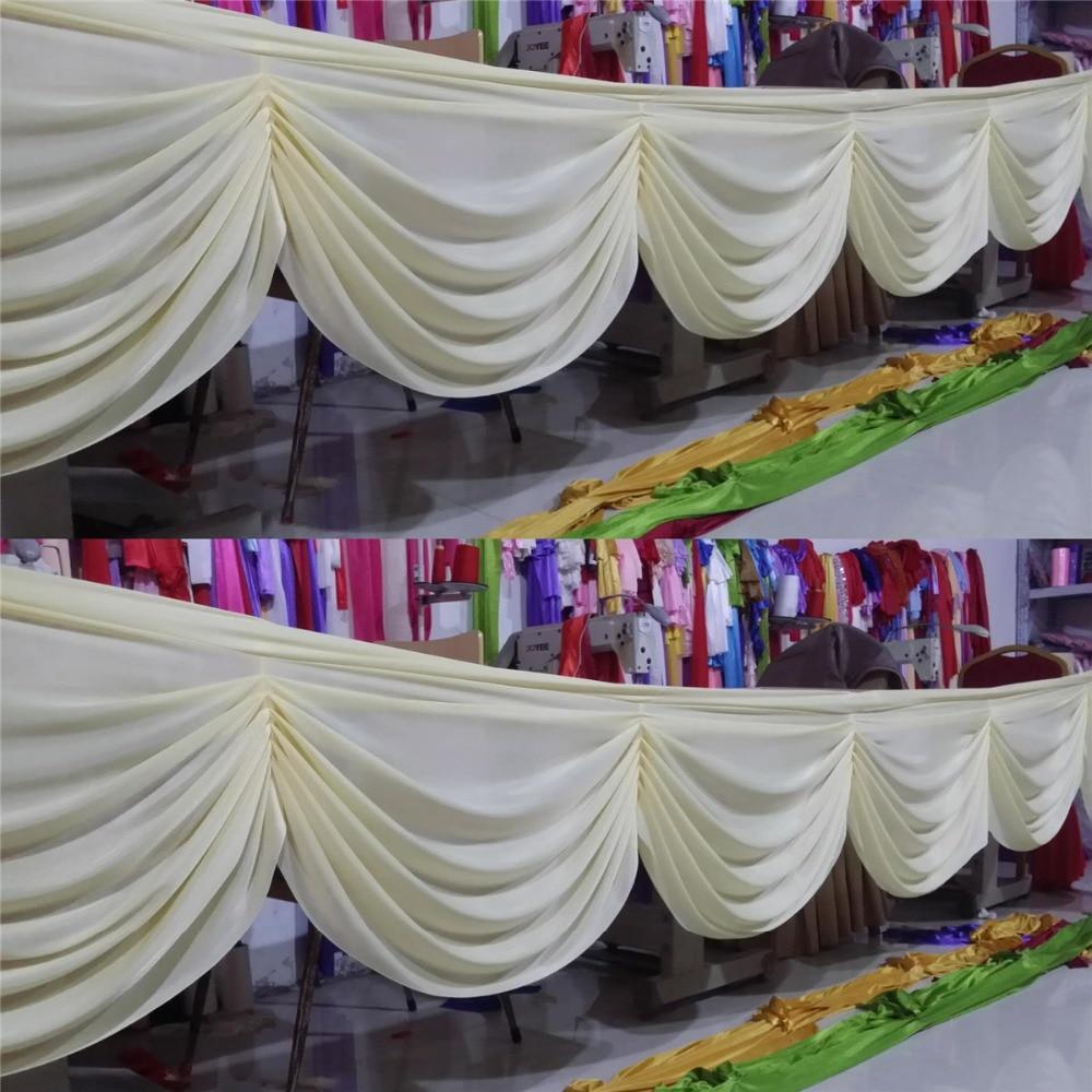 Ücretsiz kargo ucuz fiyat düğün parti zemin dekorasyon perde yağma merdiven damla