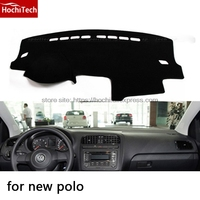 HochiTech For Volkswagen VW Polo Dashboard Mat Protective Pad Shade Cushion Photophobism Pad Car Styling Accessories