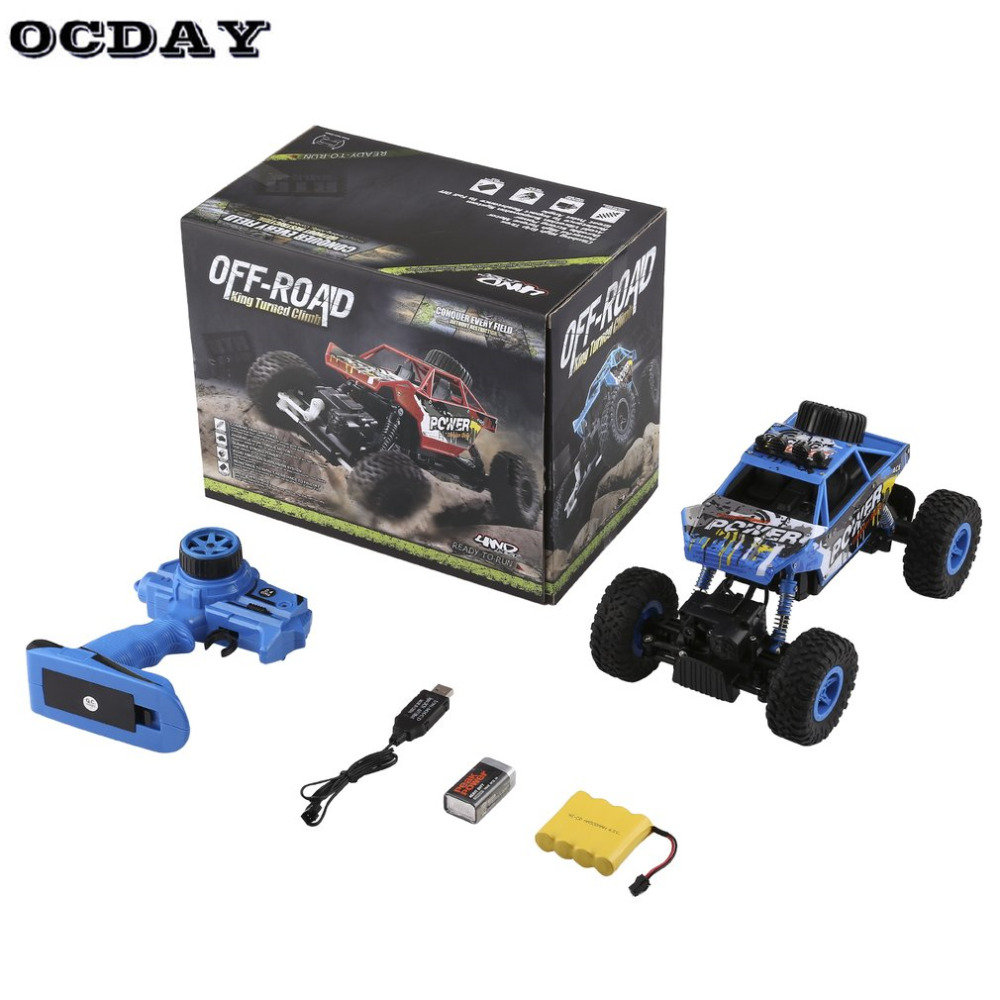 1:18 Electric Off-Road King Turned Climb RC Car High Speed Remote Control Racing Rock Crawler With Strong Climbing Ability Kids crawler king