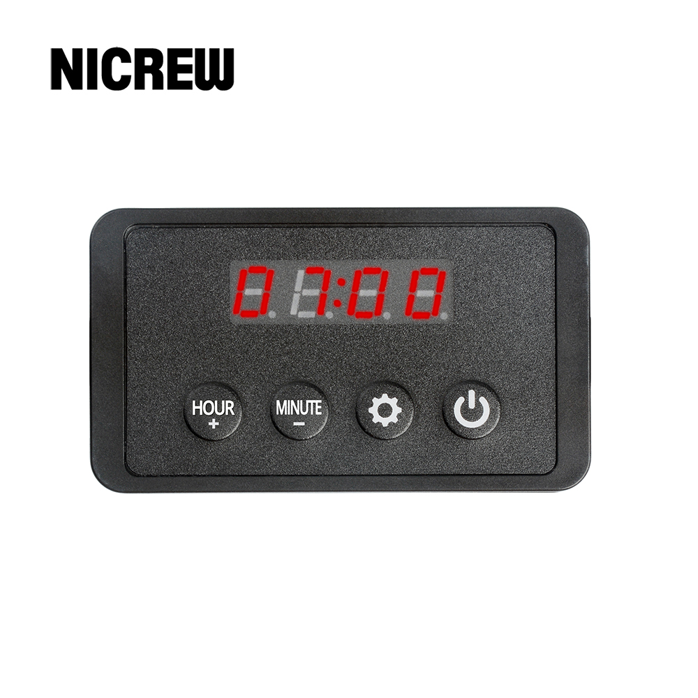 Nicrew LED Light Dimmer Controller Sunrise Sunset Modulator For Aquarium Fish Tank Led Intelligent Light Timing Dimming System