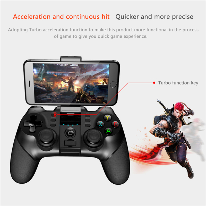 New PG 9077 Batman Gaming Wireless Bluetooth Gamepad all games Controller Joystick for Android/ iOS/ Win XP/ 7/ 8/ 10 PC Joypad