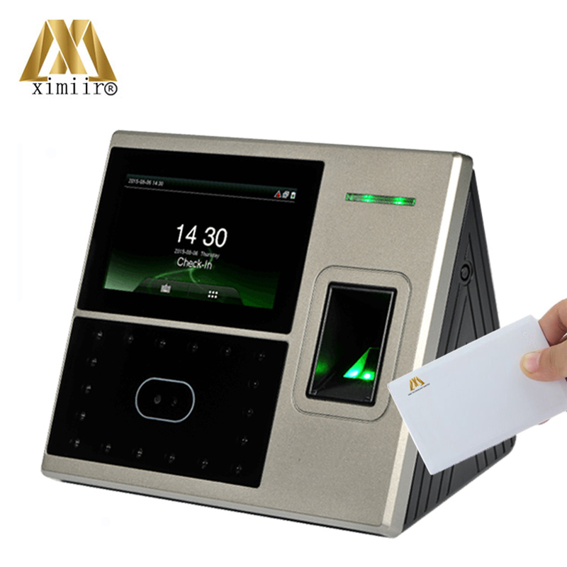 Uface800 face & fingerprint & IC card time attendance and access control facial recognition time recording and time clock|control odor|control setup|control solenoid - title=