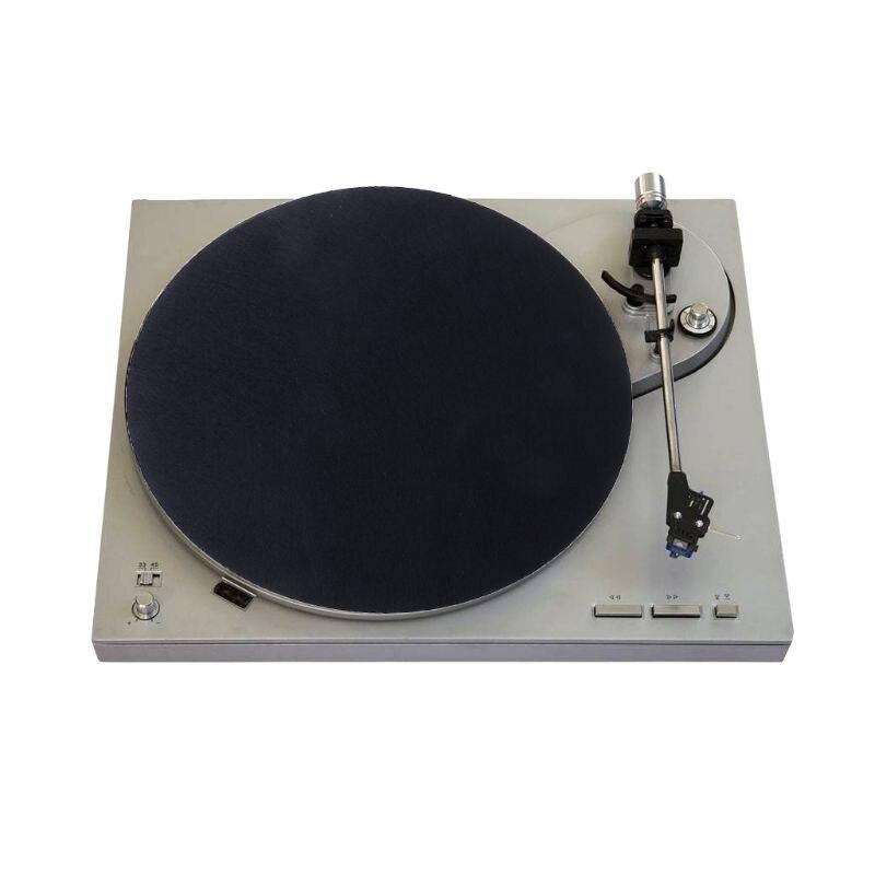 Cassette & Spieler Angemessen 295mm Filz Plattenspieler Platter Matte Lp Slip Matte Audiophile 3mm Dicke Für Lp Vinyl Rekord Unterhaltungselektronik