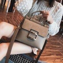 Европейский стиль ретро Женская сумка модная новая сумка высокого качества из искусственной кожи женская сумка большая сумка переносная сумка через плечо