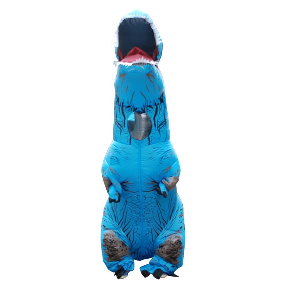 Inflable T-Rex dinosaurio  traje de fiesta juguetes al aire libre juego educativos niños 26