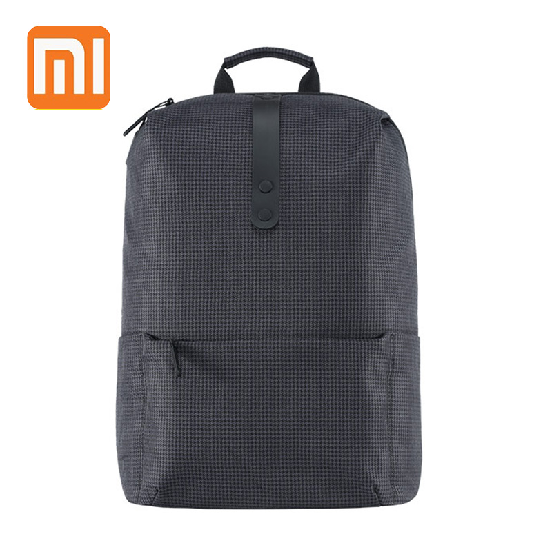 XIAOMI College Style Backpack 15.6 inch Laptop Bags Large Capacity 18L School for Women  Men Boy Girl Preppy Style(China)