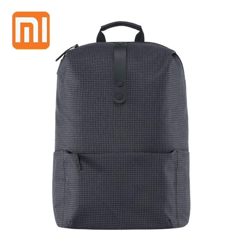 2018 XIAOMI College estilo mochila 15,6 pulgadas bolsas de ordenador portátil de gran capacidad 18L la escuela para los hombres y las mujeres chico chica estilo Preppy