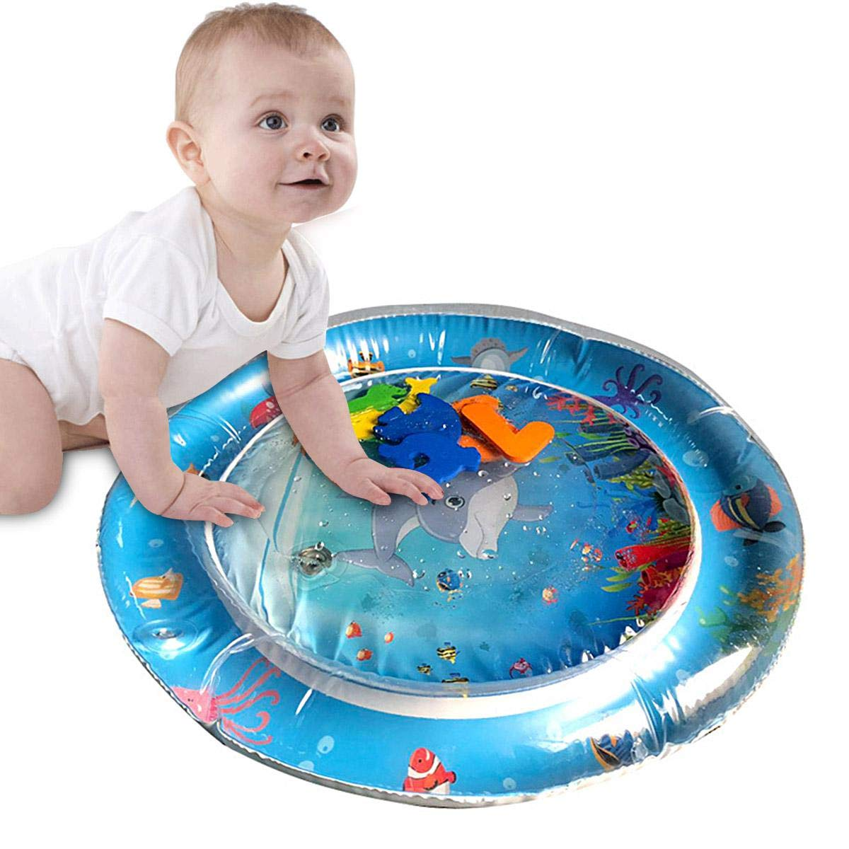 kids Inflatable play mat baby mat Tummy Time Premium Water