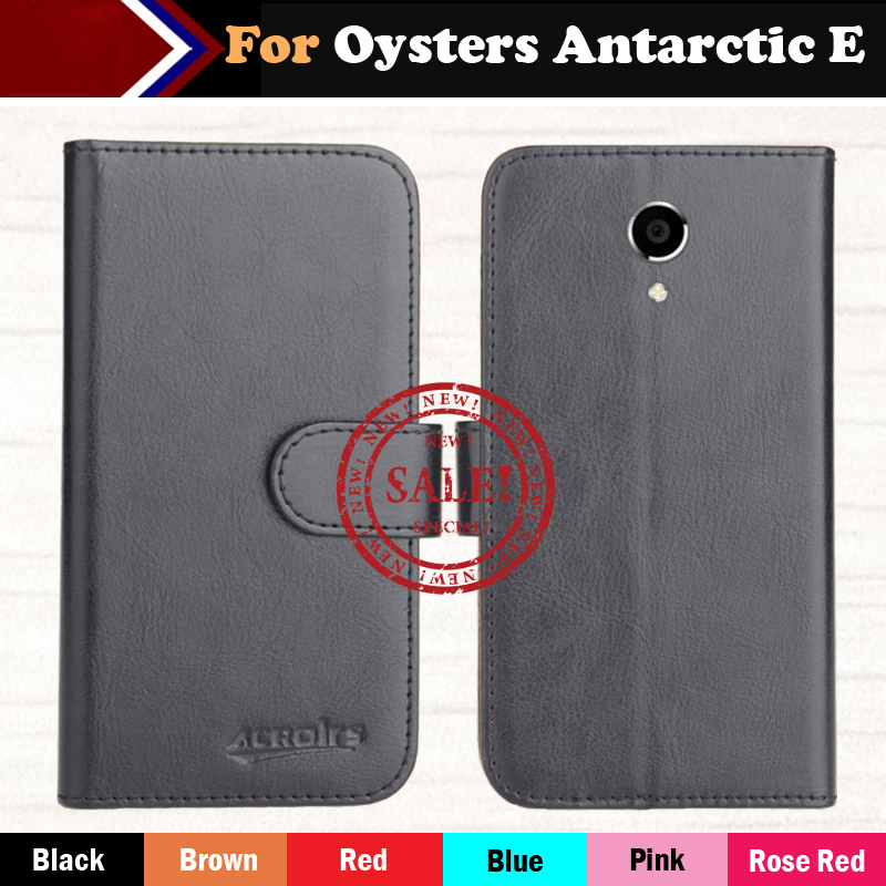 Hot!!In Stock Oysters Antarctic E Case 6 Colors Luxury Leather Exclusive For Oysters Antarctic E Phone Cover+Tracking