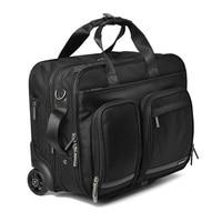 CARRYLOVE 16 дюймов бизнес поездки Сумки на колёсиках Универсальный чемодан колёса для мужчин Carry on тележка пилот чехол для ноутбука для путешест