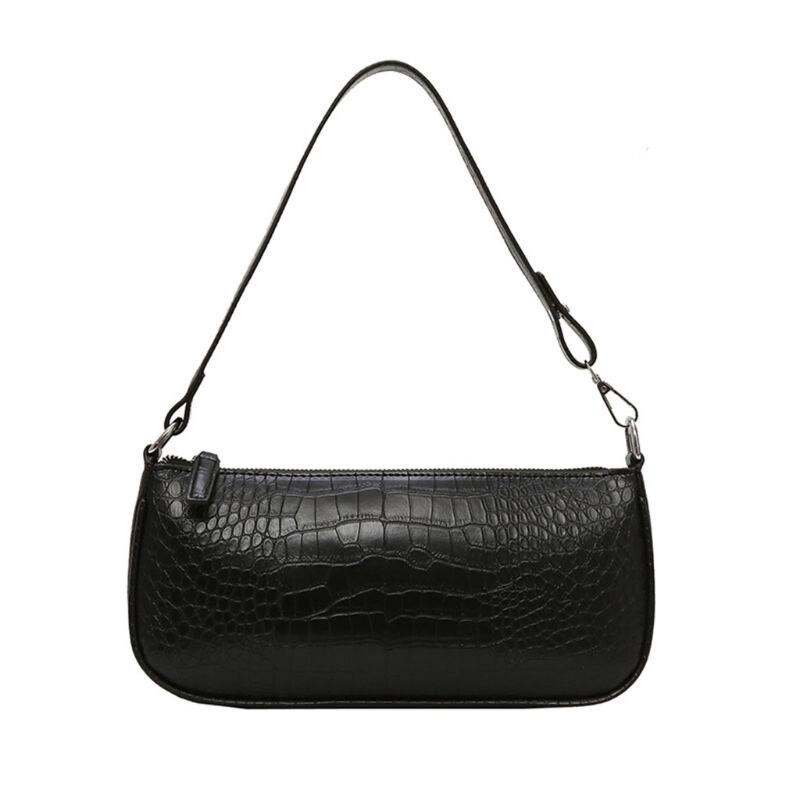 Women Ladies Alligator Pattern Bag Tote Messenger Leather Shoulder Handbag