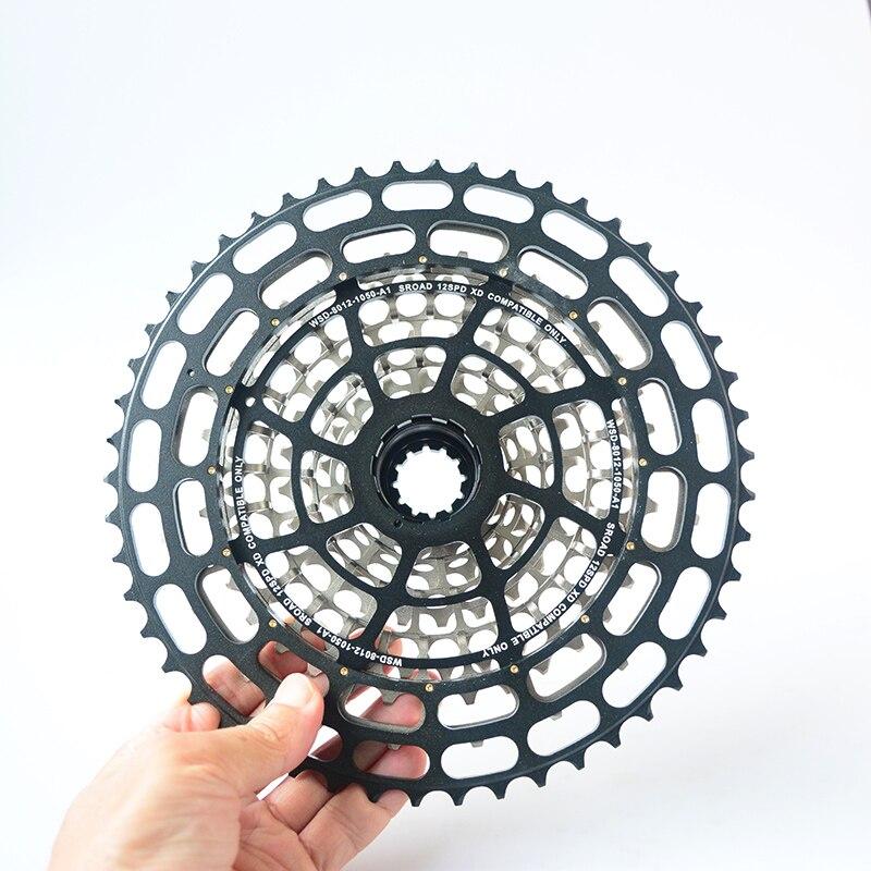 12 vitesses ultra-léger vtt vélo Cassette XD-12S vélo roue libre pour moyeux XD seulement 10-50 T 364g