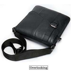 Image 2 - Westal Messenger Shoulder Women Men Bag Genuine Leather Briefcase Office Business Work For Tablet Handbag Male Female Portafolio