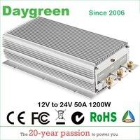 12V TO 24V 50A STEP UP DC DC CONVERTER 50 AMP 1200 Watt POWER BOOST MODULE 12V DC TO 24V DC 50 AMP VOLTAGE REGULATOR