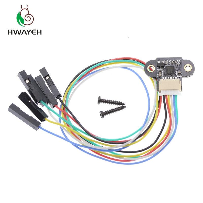 ToF TOF10120 10-180 cm Laser plage capteur Module Distance capteur RS232 Interface pour Arduino UART I2C 3-5 V