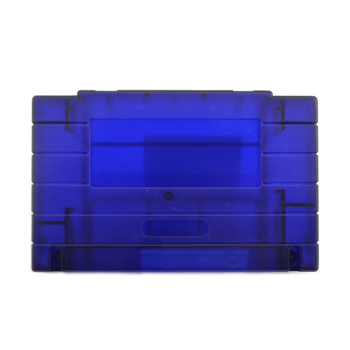 Game Cartridge card shell Replacement Plastic Shell For SNES game Console card 16bit game