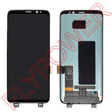 Untuk Samsung galaxy Lcd Display Touch Screen Digitizer Majelis Untuk Samsung S8 S8 G950F G950U G950W8 Lcd display Panel