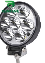 Impermeabile 10 ~ 30 v DC 21 w Auto di Alto Potere della Luce del Lavoro del LED 4.0 pollici + 18 mesi di garanzia KF-2321