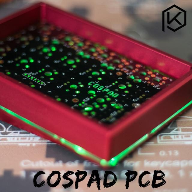 cospad Custom Mechanical Keyboard Kit up tp 24 keys Supports TKG TOOLS Underglow RGB PCB 20% programmed numpad XD21 XD24