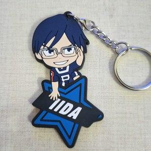 Image 5 - IZUKU MIDORIYA DEKU Bakugou Katsuki Shigaraki Tomura My Hero Giới Học Thuật Anime Mô Hình Hành Động FigureRubber Móc Khóa Mặt Dây Chuyền Tặng 6Cm