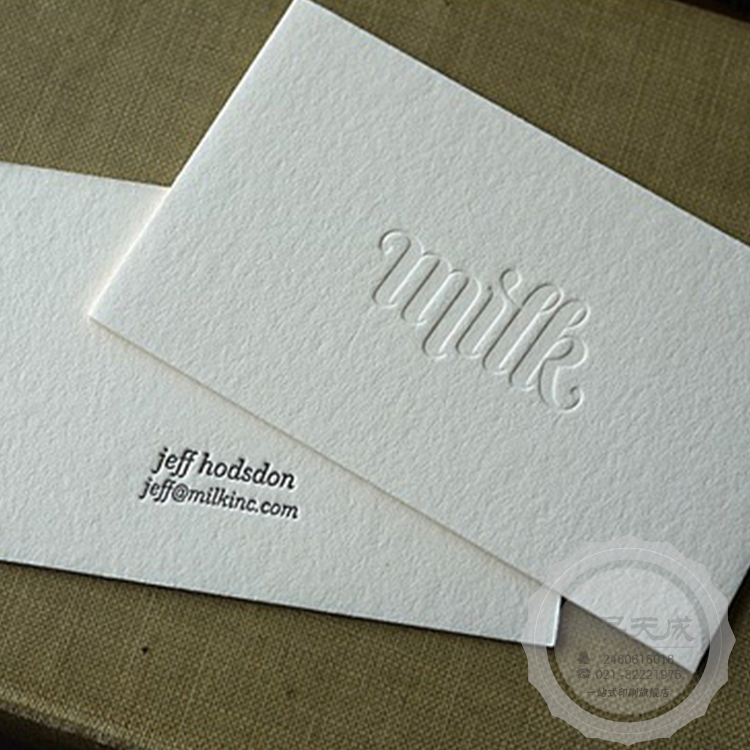 custom business card top Quality matte business cards printing Natural indentation cards Sleek cards two sided