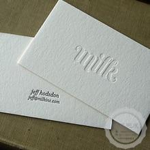 Индивидуальные визитные карточки высшего качества, матовые визитные карточки, печать естественных вмятин, гладкие карточки, двусторонняя печать