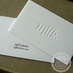 Image 1 - Индивидуальные визитные карточки высшего качества, матовые визитные карточки, печать естественных вмятин, гладкие карточки, двусторонняя печать