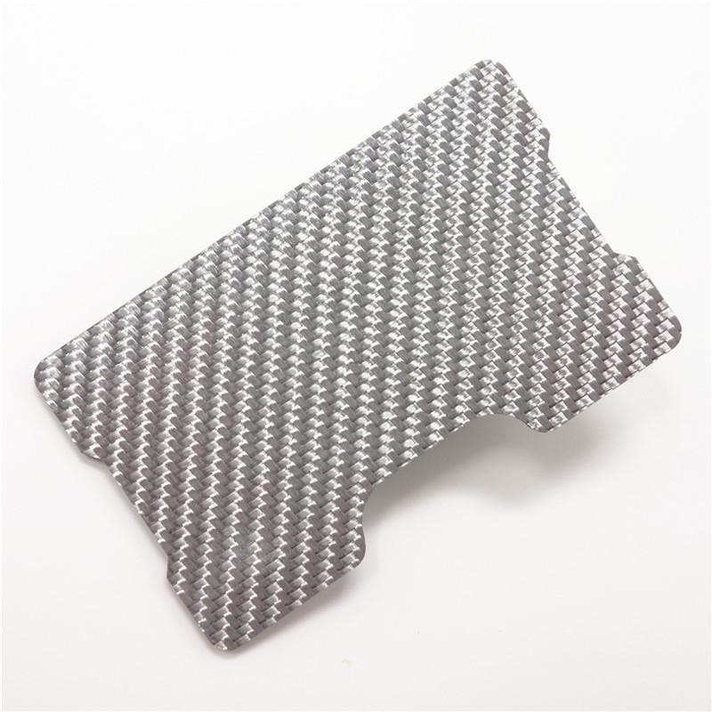 6f037defc3a4d Kohlefaser Kreditkartenetui Schlank RFID Sperrung Band Brieftaschen ...