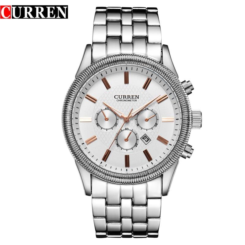Montre Homme 2016 New Curren Watches Men Luxury Brand