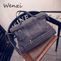 Women Messenger Bags 2016 Retro Fringe Bolsa Feminina Bolsos Fashion Handbags Tote Bag Bolsas Women Tassen Bolsos Mujer Shoulder