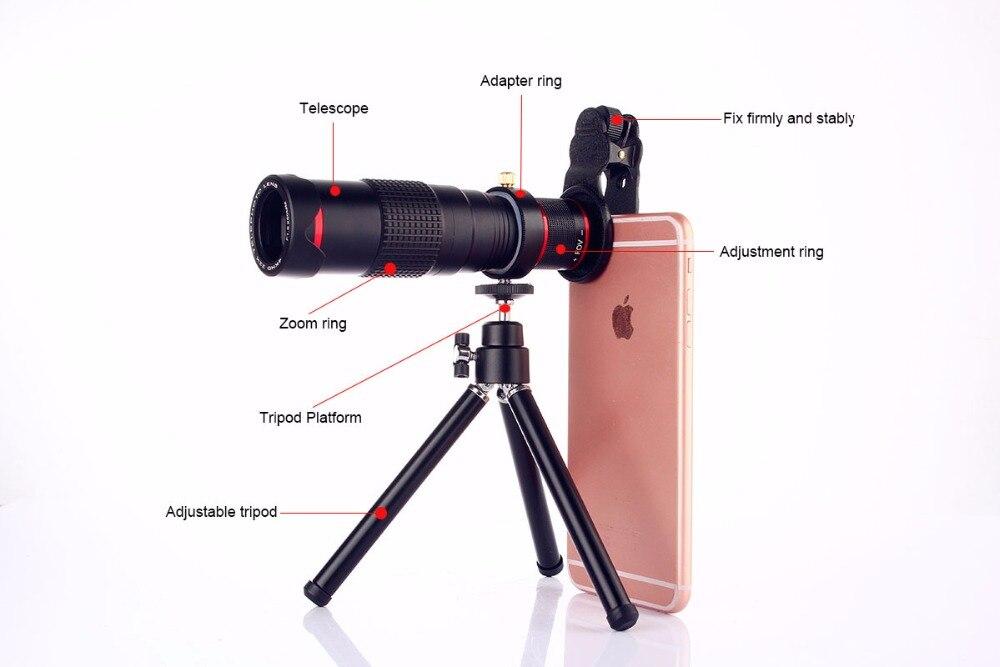 Spiratone teletach telescope adapter for md lenses lezot camera