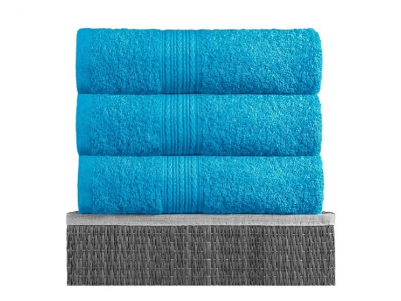 Towel for body BAYRAMALY, 70*140 cm, turquoise towel beach ethel 70 140 cm sandals for women summer shoes жёлтом microfiber 250гр m2 3936324