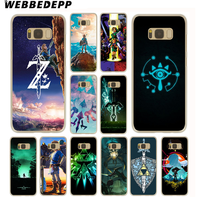 newest 7d662 f7d62 US $1.99 13% OFF WEBBEDEPP The Legend Of Zelda Case for Samsung Galaxy S10  S10E S9 S8 Plus S7 S6 Edge & Note 8 9 Phone Cover-in Half-wrapped Case from  ...