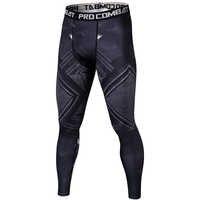 Pantera preta 3d impresso leggings homens padrão de compressão calças justas novo moletom magro calças de fitness masculino