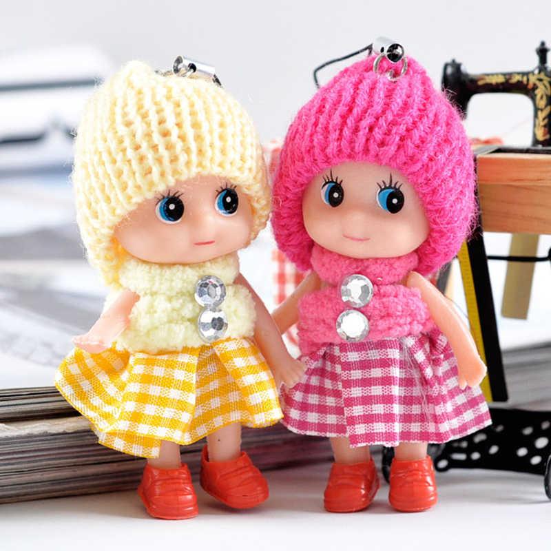 Darmowa wysyłka bliźniaki dziecko Confused doll zawieszki, czapka dla dzieci zabawki pluszowe piękny klaun moda lalki kreatywny wisiorek prezent