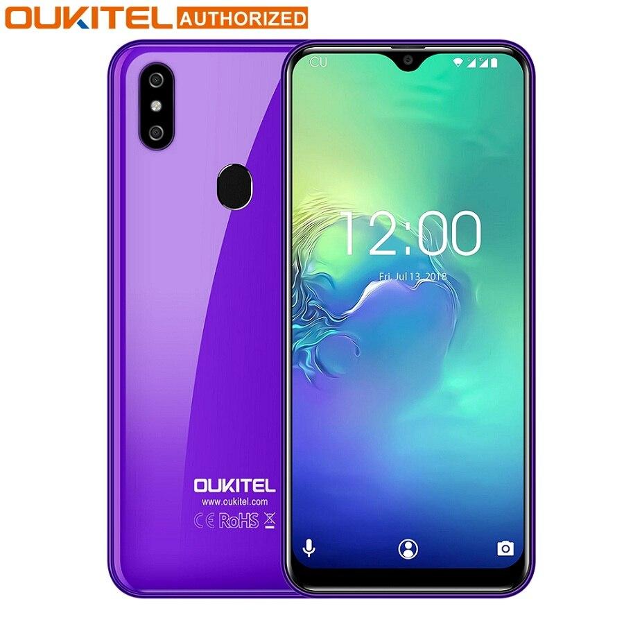 OUKITEL C15 Pro 4G Phablet 6.088 inch Android 9.0 Pie MT6761 Quad Core 2.0GHz IMG GE8300 2GB RAM 16GB ROM Fingerprint Smartphone