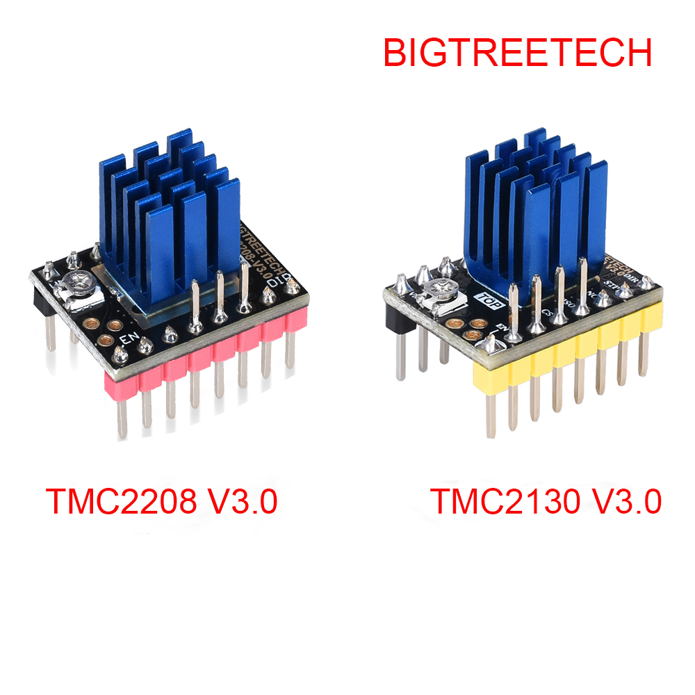 BIGTREETECH TMC2208 V3.0 UART TMC2130 SPI ステッピングモータドライバ Stepstick クローナに V1.3 Ramps 1.4 Reprap 3D プリンタ部品 MKS 世代 L -