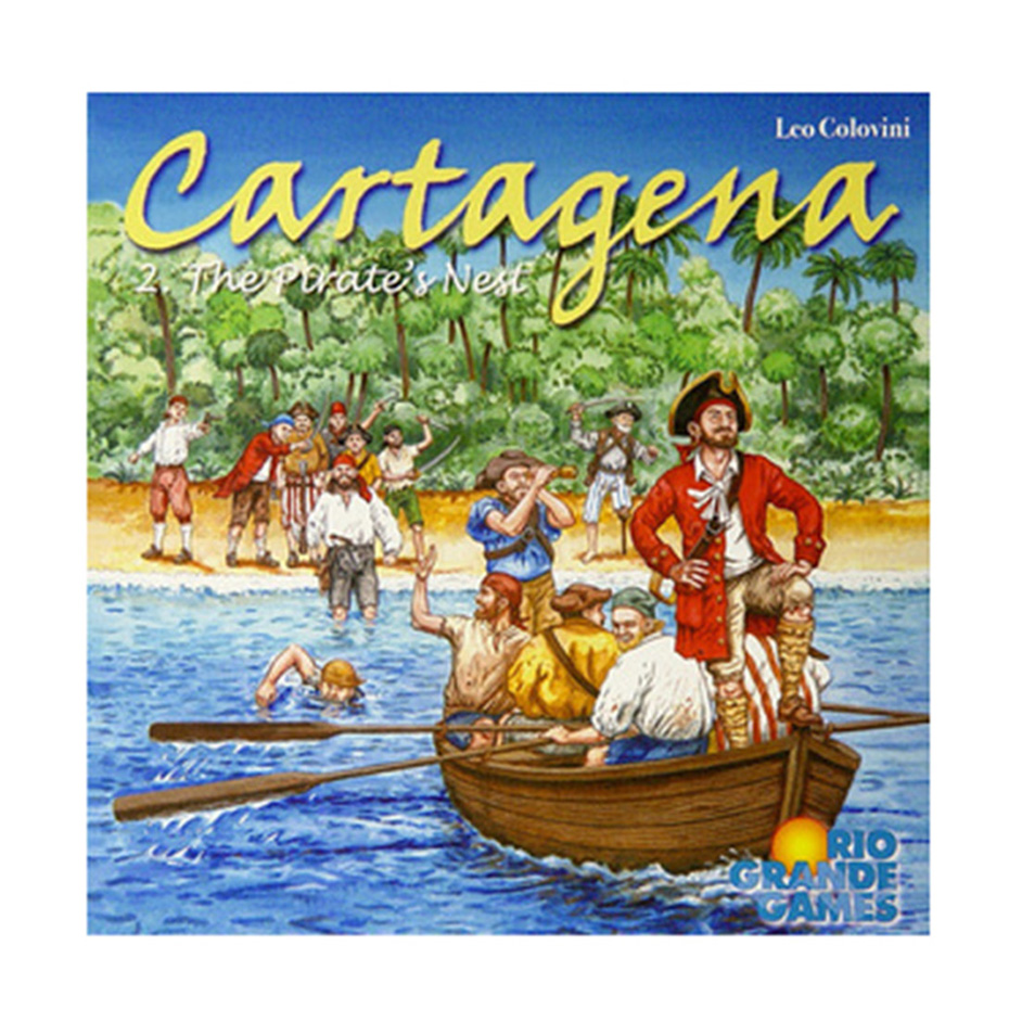 Funny Card Game Cartagena 2. The Pirates Nest Board Game 2-5 Players Family/Party Best Gift for Children Strategy Game Fans