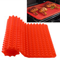 Red Pyramid Bakeware Pan Nonstick Silicone Baking Mats Pads Moulds Cooking Mat Oven Baking Tray Sheet Kitchen Tools