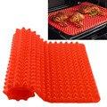 Red Pyramid Panela Antiaderente Bakeware Moldes de Silicone Baking Mats Pads Mat Cozinhar Forno Assadeira Folha de Ferramentas de Cozinha