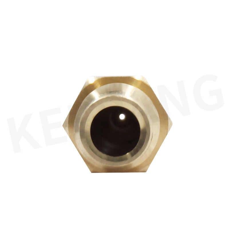 1 stück Kupfer Düse für E3D V6 Remote M7 Gewinde Extruder Hotend 0,2 0,3 0,4 0,5 0,6 0,8mm für 1,75/3mm Messing Extruder Drucken Düse
