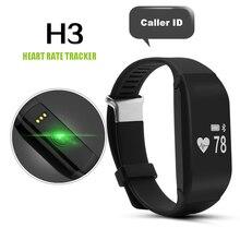 Новый H3 Водонепроницаемый Сердечного ритма Smartband Фитнес Сна Трекер Шагомер IOS Android Смарт Часы Miband Браслет P20