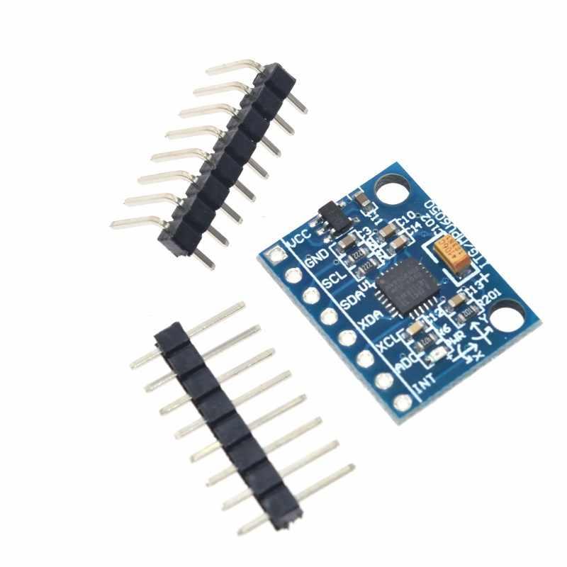 GY-521 MPU6050 MPU-6050 Sensor Module For Arduino 3 Axis Gyroscope Accelerometer Diy Smart Robot Toy Kit Car Tank Chassis